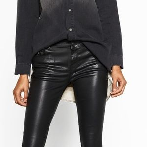 Zara | Woman Premium Jeans Vegan Leather Pant